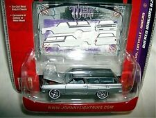 JL 1/64 wicked wagons 1965 CHEVY CHEVELLE STATION WAGON