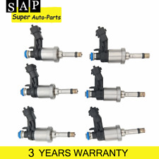 12638530 6PS Fuel Injectors For Cadillac CTS Buick Lacrosse Chevrolet Camaro GMC