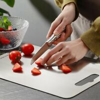 Stainless Steel Chopping Block Easy Clean  Cutting Board  Fruit Vegetable Meat