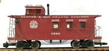 ARISTO CRAFT 82114 D & RGW CABOOSE W/ METAL WHEELS