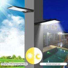 48 LED Waterproof Solar Motion Sensor Lights Outdoor Garden Pathway Wall Lamps
