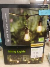 Portfolio Landscape 0805200 LED String Lights 24ft 12-light Plug-In(3R2.332)