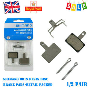 1/2Pair For SHIMANO B01S/G01S Resin Disc Brake Pads -With Retail Box Packed