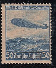 TIMBRE ALLEMAGNE PA neuf * N° 55 1° VOYAGE DU ZEPPELIN LUFTHANSA