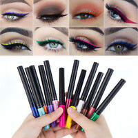 12 Color Matte Not Blooming Makeup Eyeliner Waterproof Liquid Eye Liner Beauty