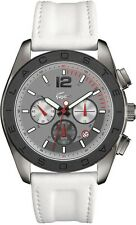 Lacoste Panama Men's Chronograph Leather Strap Watch!! Nwt!! Msrp $395.00