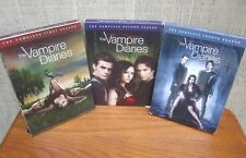 VAMPIRE DIARIES lot of 3 DVD sets TV show First Second & Fourth Seasons LJ Smith