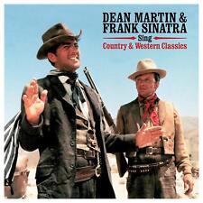 Dean Martin y Frank Sinatra cantar country y western Classics 180g Vinilo Lp