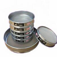 10-200 Mesh 2-0.074mm Aperture Stainless Steel Lab Standard Test Sieve 10-20cm