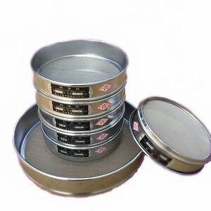 10-200 Mesh 2-0.074mm Aperture Lab Standard Test Sieve 10-20cm Stainless Steel