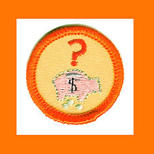 MONEY SENSE Girl Scout NEW Today & Tomorrow Orange Worlds to Explore Pig