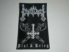 MOONBLOOD BLUT & KRIEG EMBROIDERED PATCH