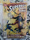Rare Superboy #58 1998 Karl Kesel Tom Grummett DC Newsstand Upc Variant