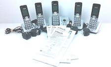 Vtech Answering System With 5 Cordless Handsets