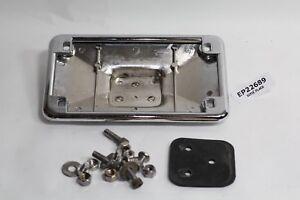 chrome license plate frame Harley FXR fender FXRT FXRP FXLR FXRS FXRD EP22689