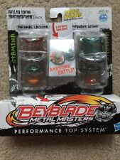 Beyblade Metal Masters - Thermal Lacerta & Thunder Leone (Solid Iron Showdown)