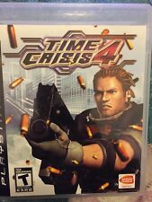 Time Crisis 4 (Sony PlayStation 3, 2007) USED W/damage To Case GAME ONLY