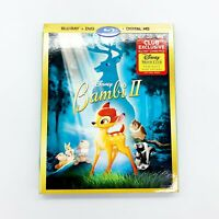 Bambi II Blu-Ray / DVD Disney Club Exclusive with Slipcover No Digital Code