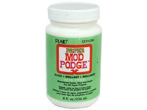 Mod Podge Paper Gloss - Glue, Sealer & Finish 236ml (8oz)