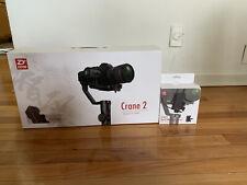 Zhiyun Crane 2 3-Axis Camera Stabilizer - Black- With Servo Follow Focus
