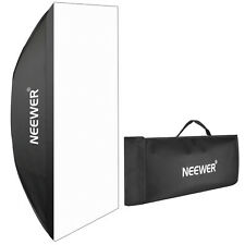 Neewer 60x90cm Softbox Rettangolare con Attacco Bowens per Flash da Studio