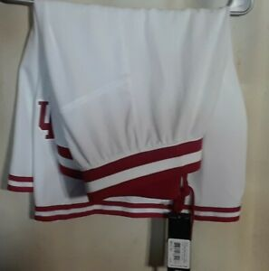 NWT! MSRP $60.00! NCAA Indiana Hoosiers Team Logo Shorts By Adidas! Adult 2XL.