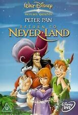 PETER PAN IN RETURN TO NEVERLAND PART 2 DVD 2ND Movie Second Film UK  New R2