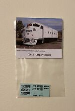 """SSR - CLP12 """"Casper"""" Decals suits AUSTRAINS, AUSCISION, SDS"""