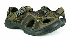 Teva Omnium Leather Brown Sport Sandals/Water Shoes Mens 8 *NEW IN BOX*