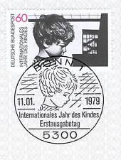BRD 1979: año del niño nº 1000 con limpia bonner sello especial! 1a! 1510