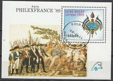 Guinea-Bissau: Block 279 gestempelt 200. Jahrestag Französischen Revolution