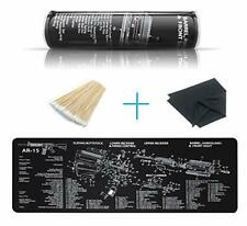 Yfeex Gun Cleaning Mat Pad 36.2'' X 12.2''- Cleaning Mats with Cotton Swabs.
