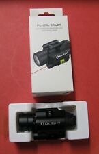 Olight Pl-2Rl Baldr Rail Mount Weapon Light with Red Laser, Lightly Used