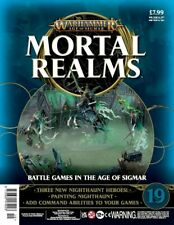 Warhammer Age Of Sigmar Mortal Realms Issue 19 with Three Nighthaunt Heroes