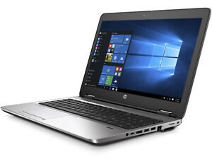 "HP ProBook 650G2 15.6"" Core i7-6820HQ (3.6GHz Max) WIN 10P 64 w/Recovery Drive"