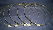 """95 BREEZE AERO SEAL HOSE PIPE CLAMPS (14mm x 953mm) 7-3/4"""" to 11-5/8"""" RANGE"""