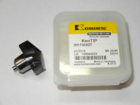 KENNAMETAL Carbide Drill Tip Insert 0.9998 5105685 KC7315