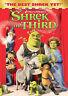 "Dream works presents ""Shrek the Third"" Animated Family Movie on DVD"