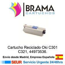 Cartucho Negro Oki 44973536 Oki C301 C321 C321dn Remanufacturado