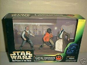 Star Wars Power Of The Force Cantina Showdown Box Set