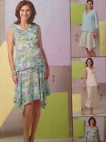 McCalls Sewing Pattern 4880 Misses Maternity Tops Skirt Pants Size 14-20 Uncut