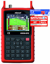 Alpsat as06-stc&ahd Combo Real Time Analyzer s2/c/t2 + AHD, Nit, TV picture