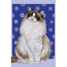 Pipsqueak Productions C546 Ragdoll Cat Christmas Boxed Cards - Pack of 10