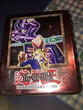 Yugioh Card Collector Metal Tin Box No Cards Vintage Konami 1996