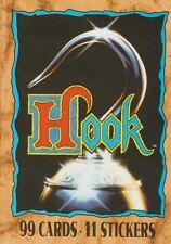 Topps Hook Set of 99 + Sticker Set of 11 & Wrapper