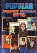 Popular Sheet Music Hits: (Piano/vocal/chords)
