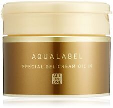 Shiseido AQUALABEL Special Gel Cream Oil In Aging Care All-in-one 90g From Japan