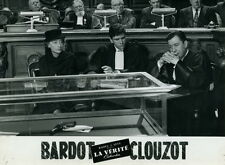 PAUL MEURISSE CLOUZOT LA VERITE 1960 VINTAGE PHOTO ORIGINAL #26
