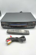 Panasonic VCR Plus - Model PV-8401- W/ Remote & AV Cable - TESTED & WORKING