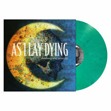 AS I LAY DYING - Shadows Are Security, LTD OPAQUE TEAL MARBLE VINYL VINYL